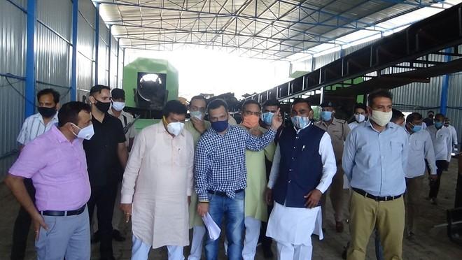 Waste disposal plant inaugurated in Panchkula