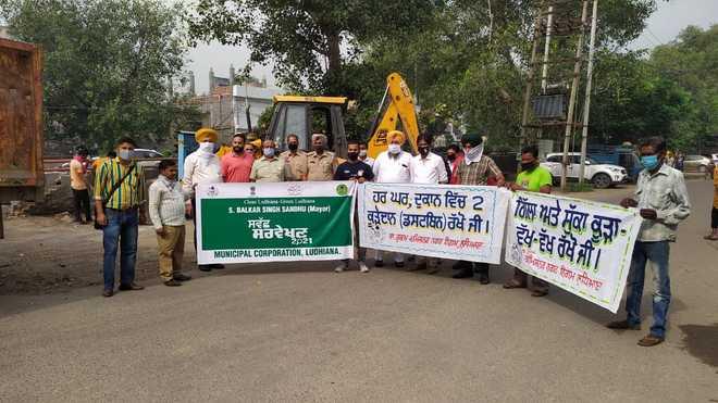 Drive to clean 34 major roads in Ludhiana