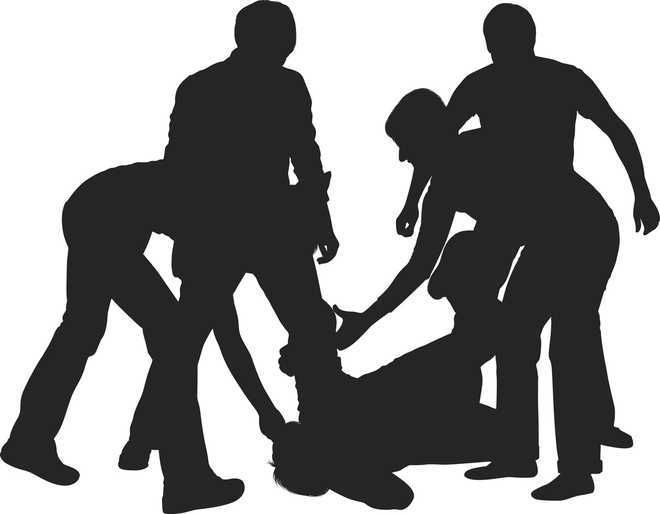 4 booked for torturing man