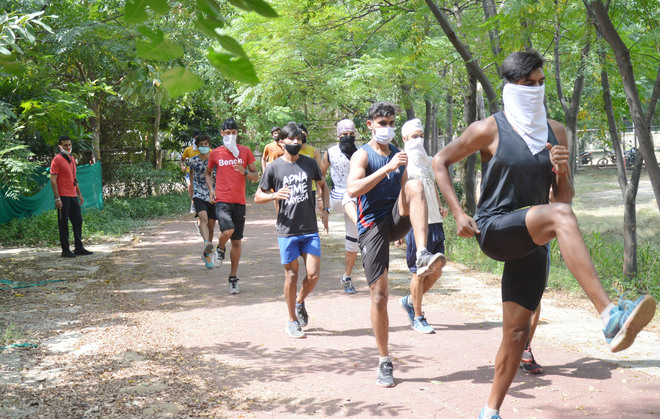 Buzz returns to sports coaching centres in Ludhiana