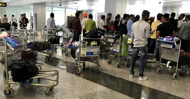 96 evacuees from Dubai land at city airport