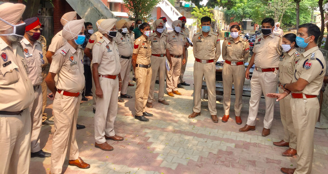 Security up ahead of Bharat bandh