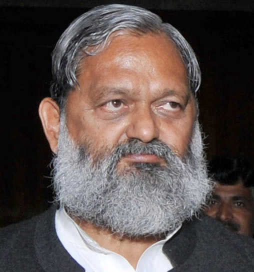 Anil Vij seeks time from Rajnath for Ambala airport project