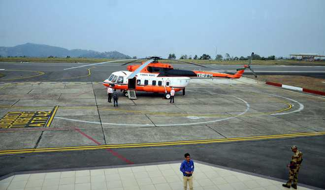 Heli-taxi service sought for Chamba