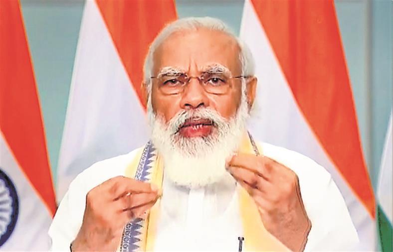 To dispel fears, PM mentions Sonepat farmer