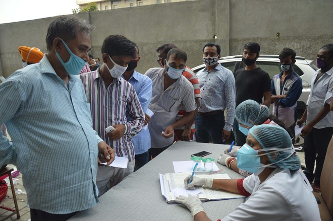 Over 400 infections on 2nd consecutive day in Ludhiana