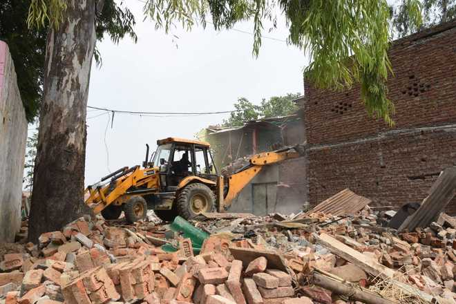 Canal land in Faridabad freed from encroachment