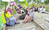 Farm Bills: Railway tracks blocked in Patiala district