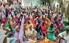 Farmers block Jalandhar-Pathankot rail track in Tanda Urmar
