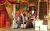 The cast of Mahabharat on Kapil's show