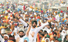 Protests by Punjab farmers at 125 sites