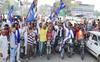 Youths go full throttle in protest against farm Bills