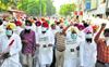 Cong protests 'draconian' farm Bills, seeks withdrawal