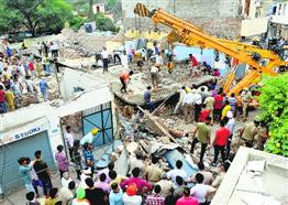 4 dead in Dera Bassi building collapse