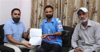 Visually impaired international cricketer to finally get his dues