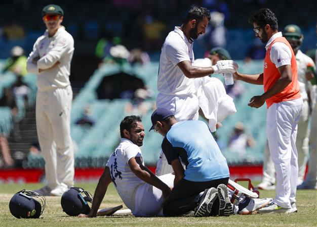 Injured Vihari out of last Test, unlikely for Eng series; Shardul likely in place of Jadeja